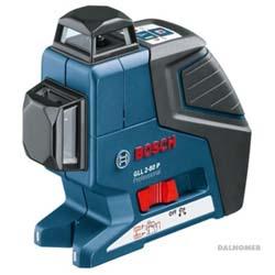 Лазерный уровень BOSCH GLL 2-80 P + мишень