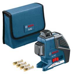 Лазерный уровень BOSCH GLL 2-80 P + приемник LR2 + держатель BM1